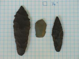 Examples of Early Lithic Types